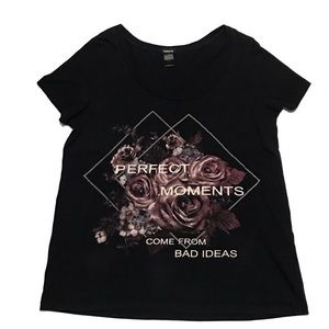 TORRID Perfect Moments Come From Bad Ideas T Shirt